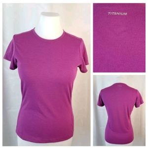 Columbia Titanium XS Cap Sleeve Base Layer Top Tee